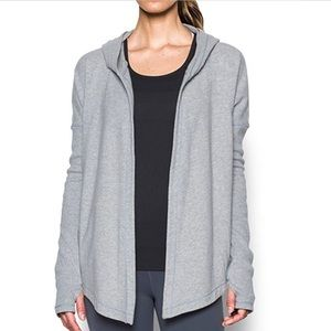 Under Armour Womens Modern Terry Cardigan  (L)